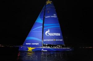 2014 09 Esimit Europa upravo stigla u Porto Montenegro