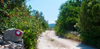 Pjesacka staza Luštica