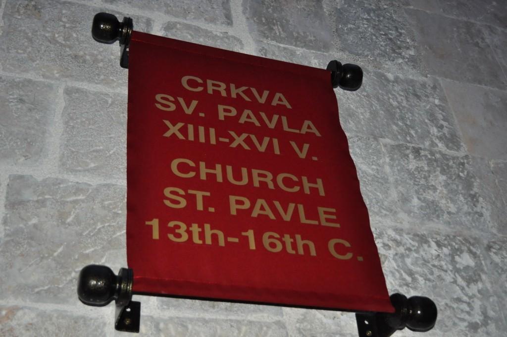 Crkva Svetog Pavla Kotor