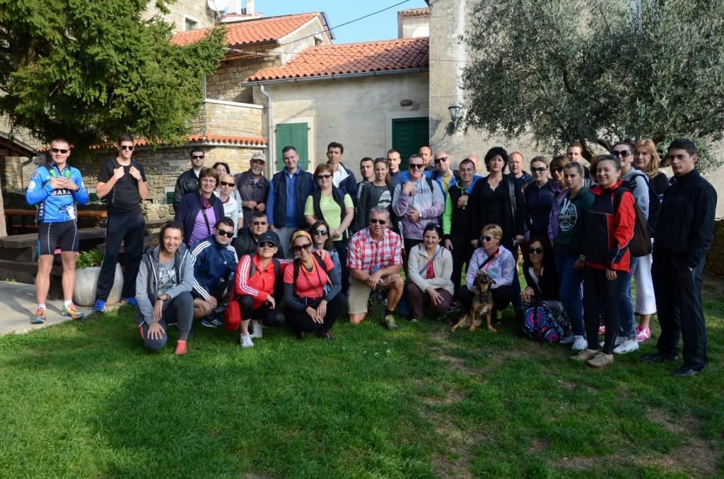 ucesnici studijskog putovanja u Istru
