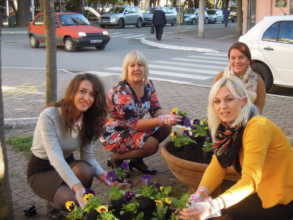 TOT - Sade cvijeće za Dan opštine Tivat