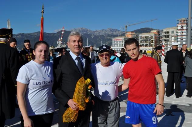 Maratonac Belan i gradonačelnik Tivta