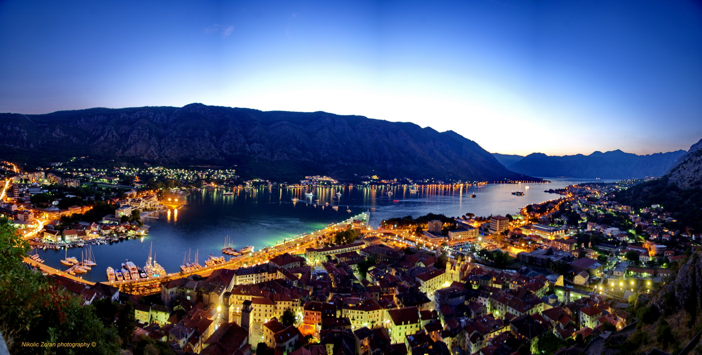 Kotor - Panorama foto Zoran Nikolić
