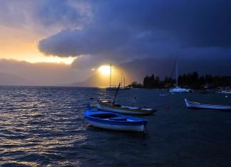 Vrijeme Boka Kotorska - oblačno sa kišom 17.novembar 2014