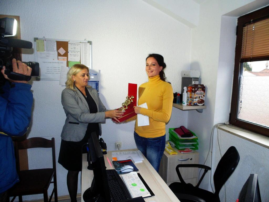 dodjela nagrade Petkovicevoj