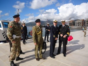 Gosti iz Italije sa komandantom MCG Darkom Vukovicem