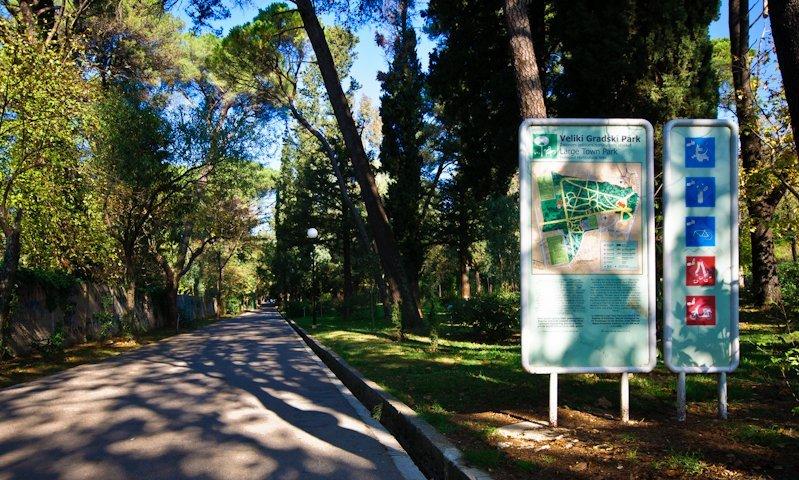 Gradski park Tivat
