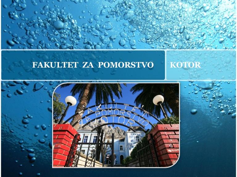 Fakultet za pomorstvo Kotor, 55 godina postojanja