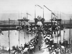 Glavna bina na svečanosti otvaranja Sueckog kanala