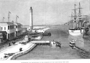 Ulaz u Suecki kanal u Port Saidu