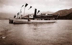 CETINJE kao austrougarski PIONIER na Skadarskom jezeru 1917 godine