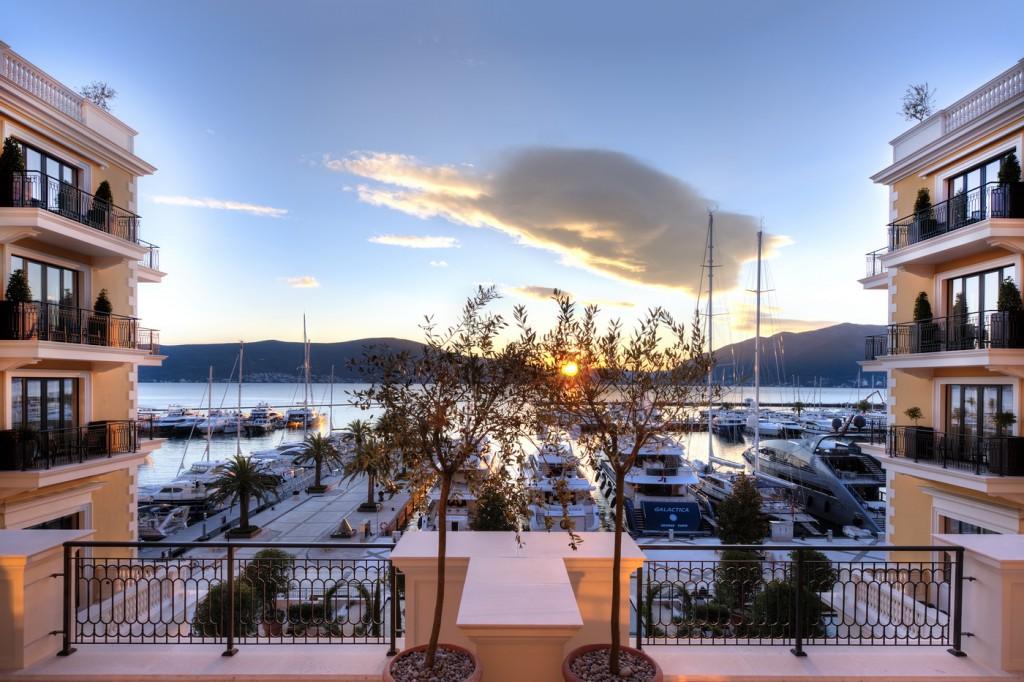 Pogled iz hotela Regent