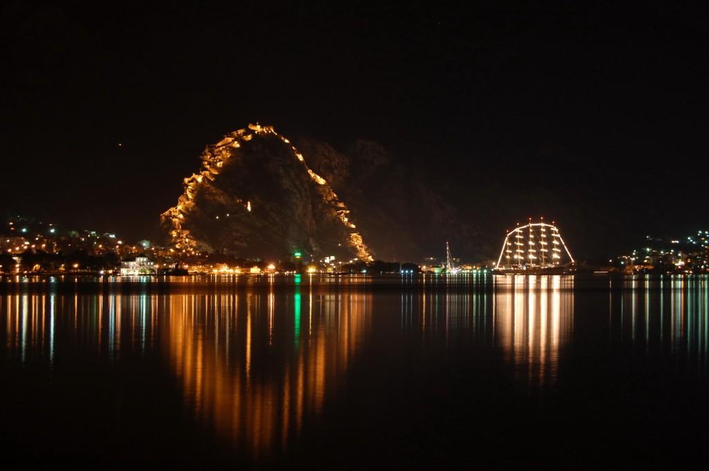 Kotor - Star Clippers at night