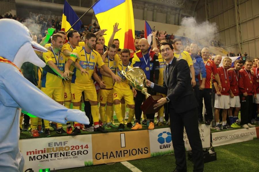 Mini Euro - Rumunija šampion