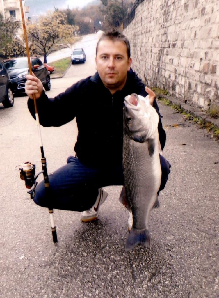 Treće mjesto Mišo Jovančević - brancin 6,2kg