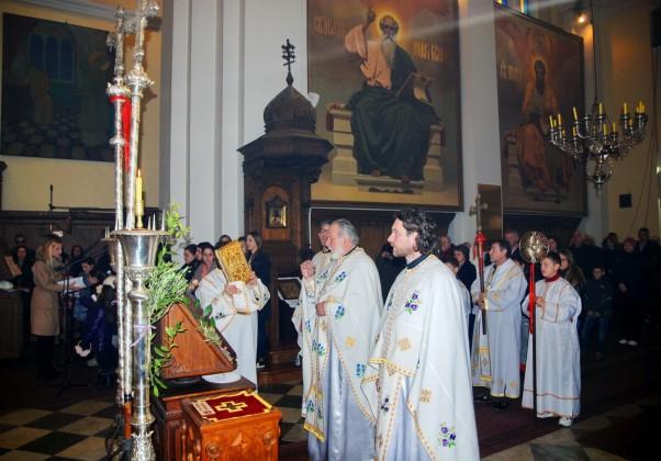 Kotor - Božićna liturgija u crkvi Sv. Nikole