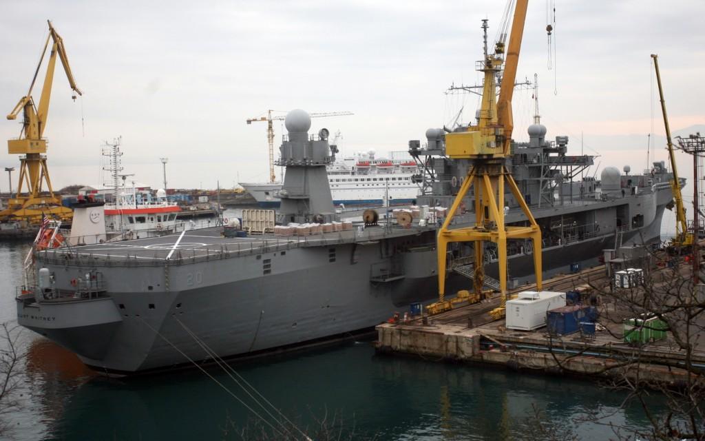 Brod USS Mount Whitney u brodogradilistu Viktor Lenac