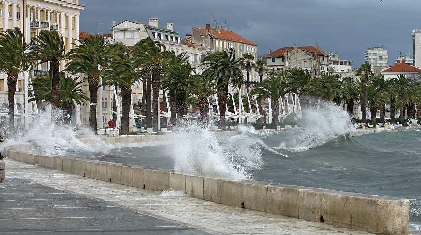 Split jugo - Photo Dalmacijanews