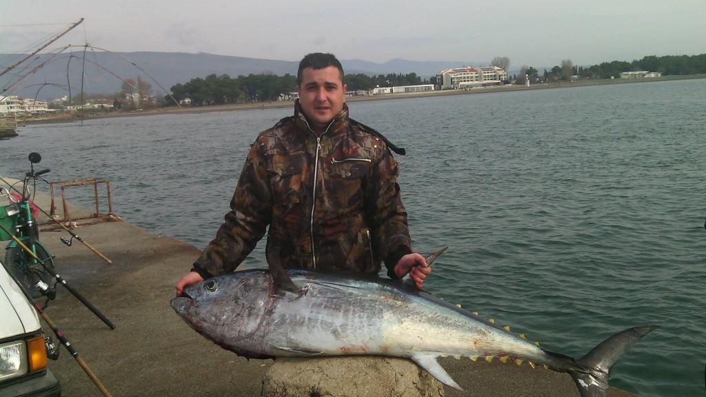 Ulov godine - drugo mjesto -Samir Alić - TUNA 46kg