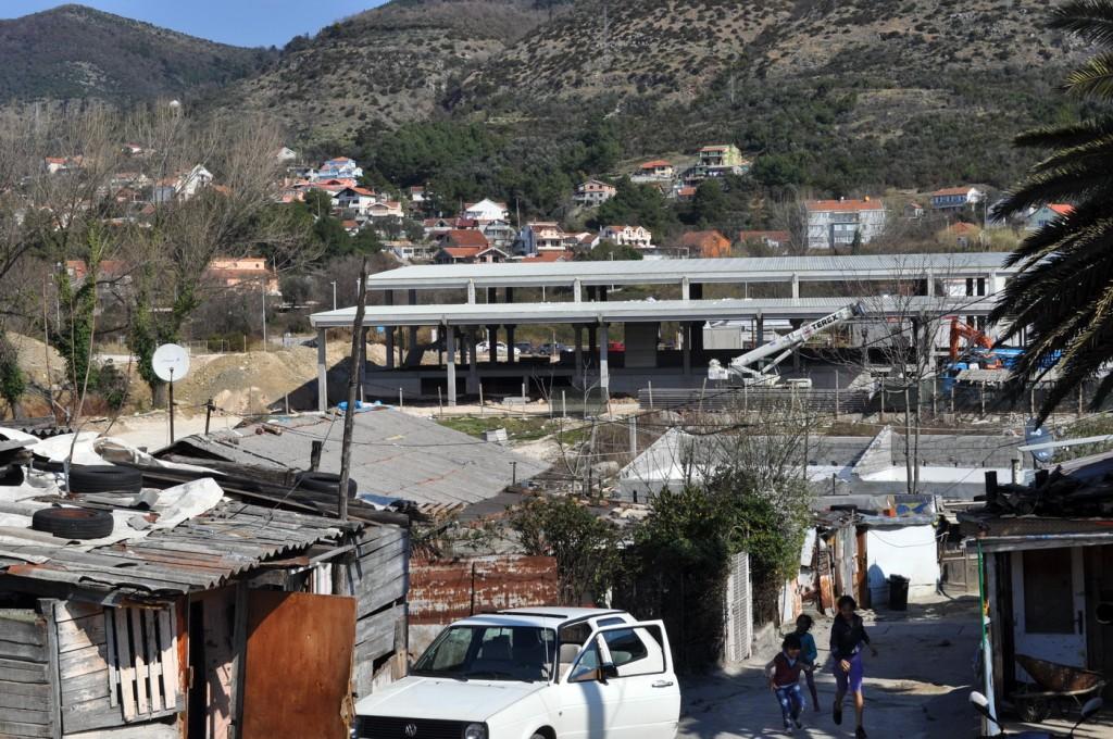 Buduća autobuska stanica Tivat