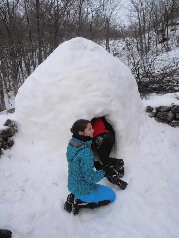 Orjen - Kurs zimskog planinarenja
