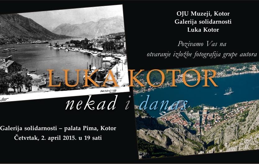 Luka Kotor nekad i danas