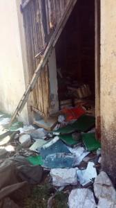 Provaljena vrata na magacinu sa arhivom