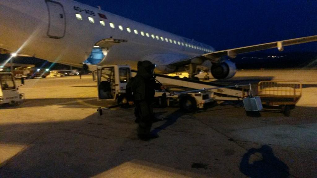 Vježba na aerodromu Tivat