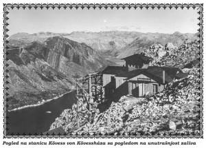Žicara-Kotor-Cetinje 1916.