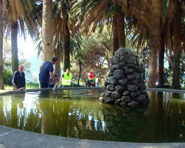 Čišćenje fontane