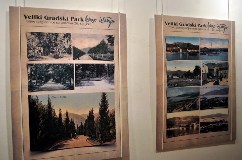Gradski park Tivat - izložba