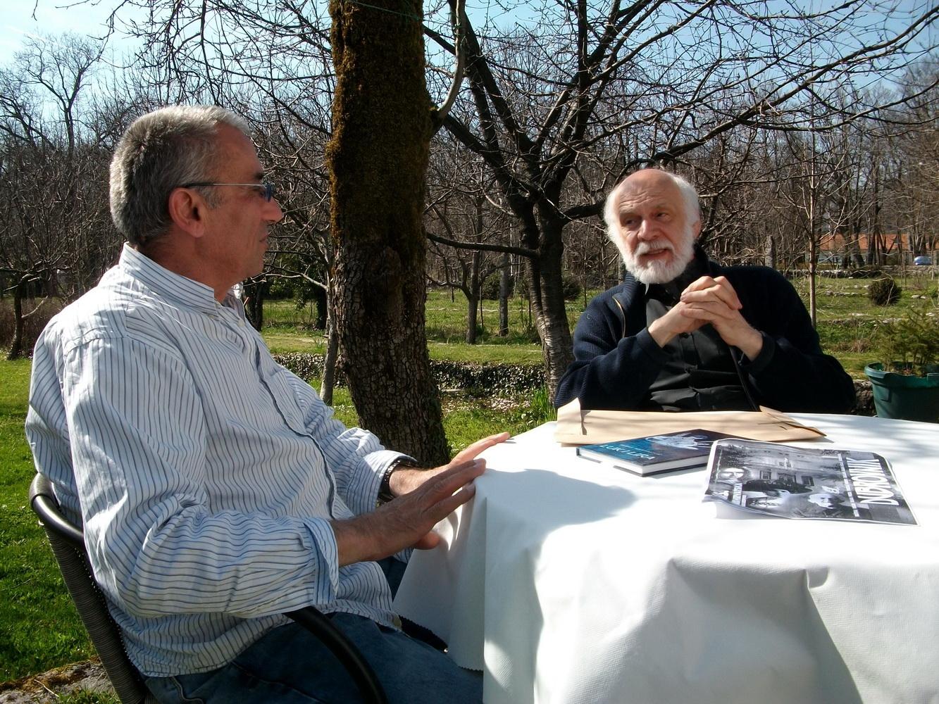 Dimitrije Popović i Miraš Martinović