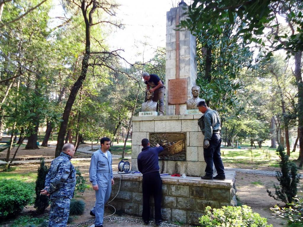 Akcija sredjivanja spomenika