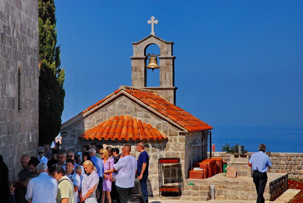 Grbalj - Osveštenje crkve Svetog Ilije u Zagori