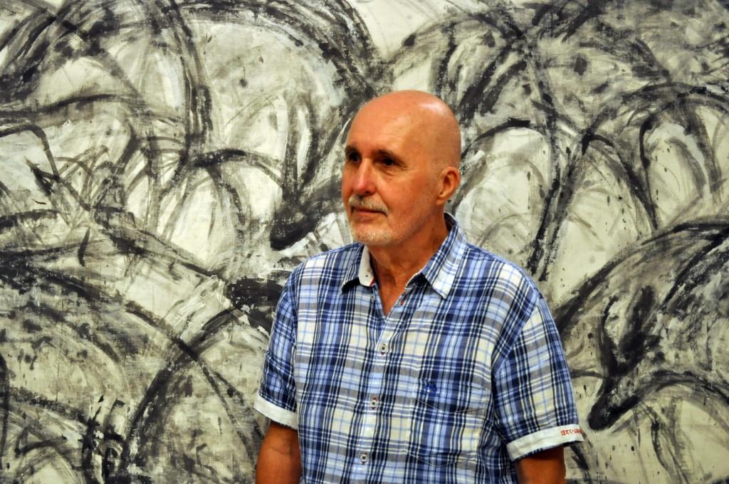 Izložba slika i oblutaka Veselina Banjevića - Kotor