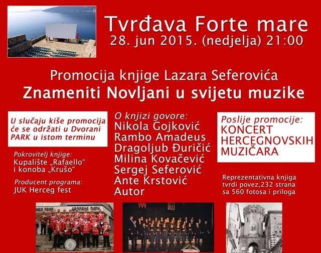 Promocija knjige prof. Laza Seferovića