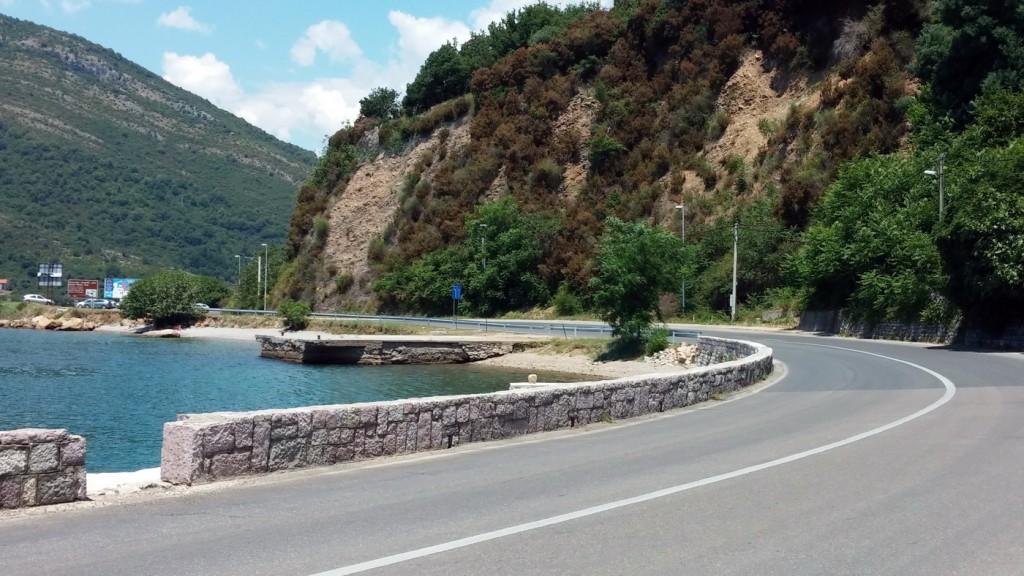 Dio obale u Luci