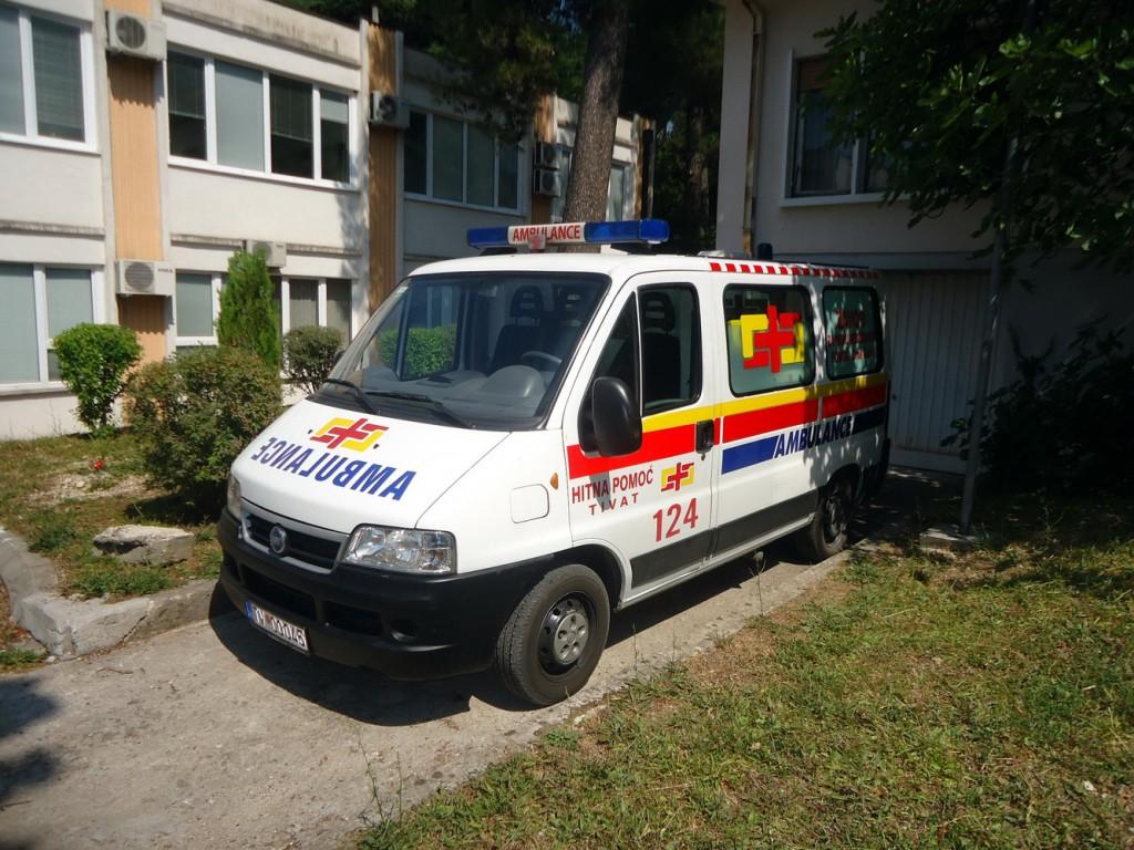 Otišao za Ulcinj -sanitetsko auto koje je 2009 kupila Opština Tivat