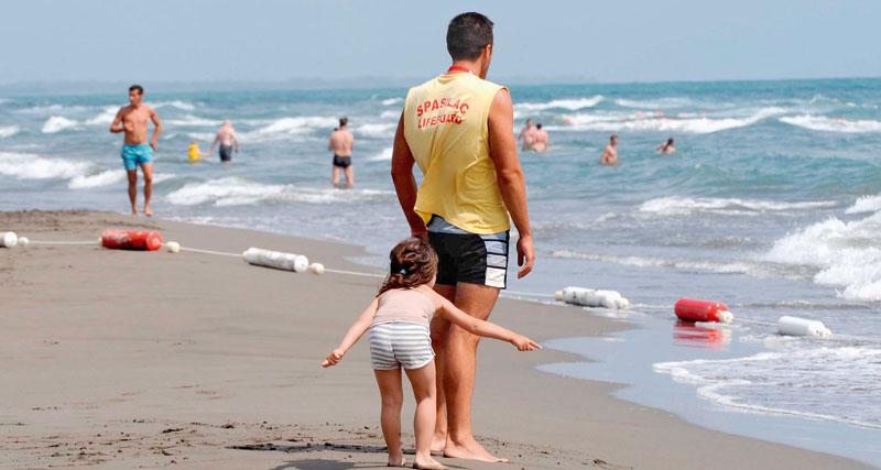 Velika plaža - spasioc