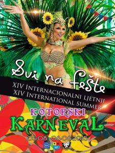 Ljetni karneval Kotor