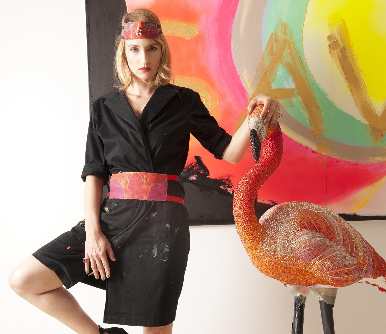 Milena ZeVu by Nenad Marjanovic Opening page