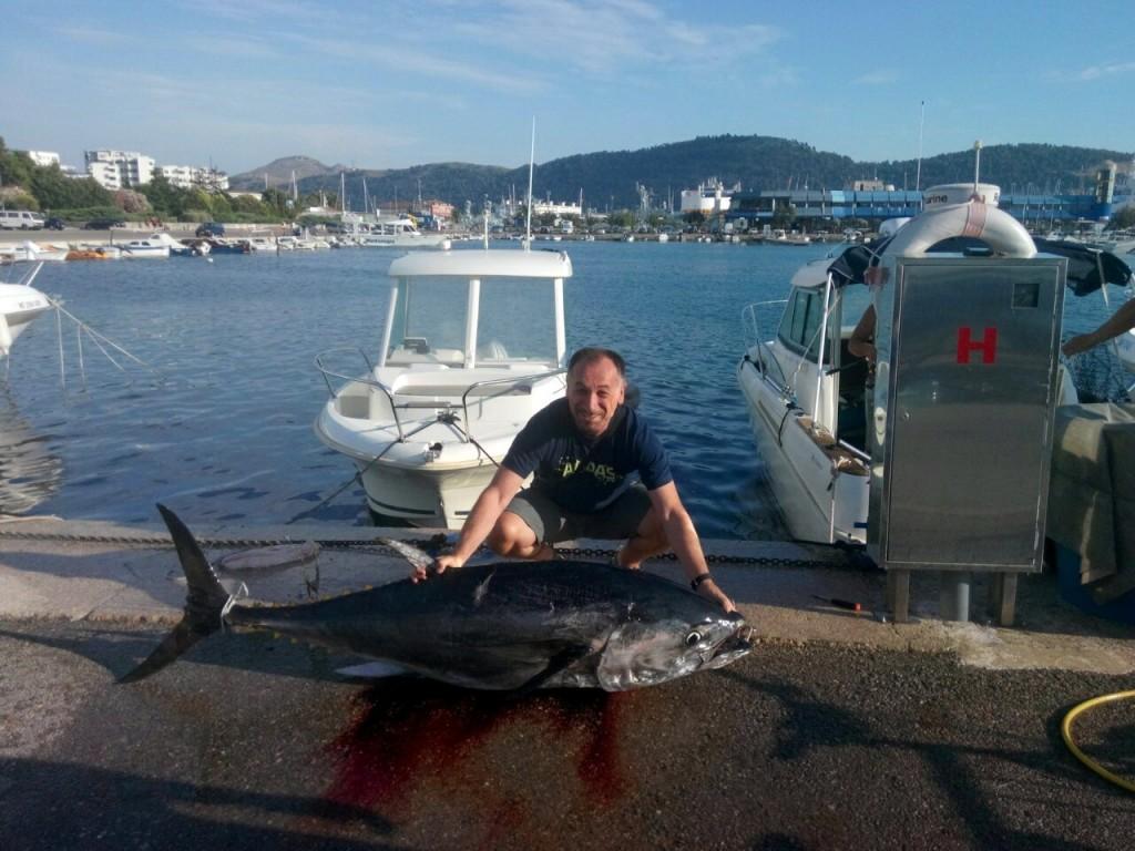 Prvo mjesto - Milan Kolarić tuna 86