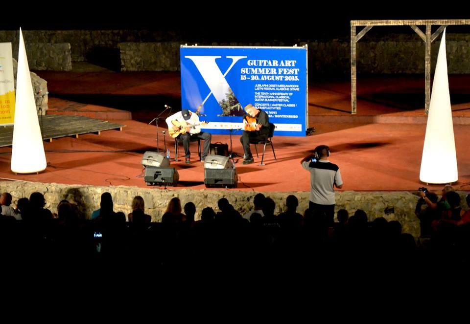 Otvoren 10.Gitar art samer fest(GASF)