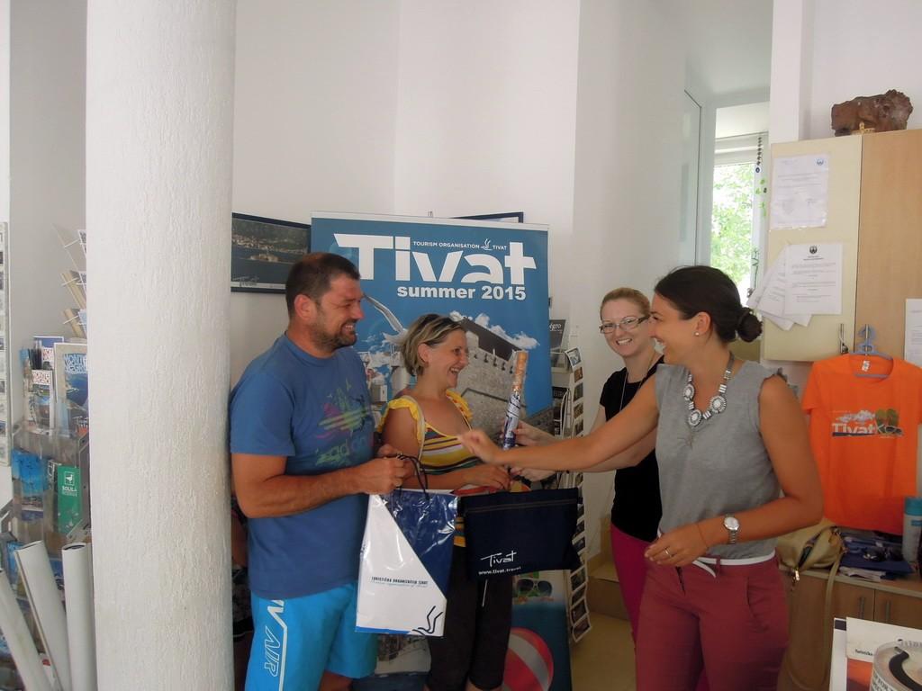 Nagrađeni gosti TO Tivat