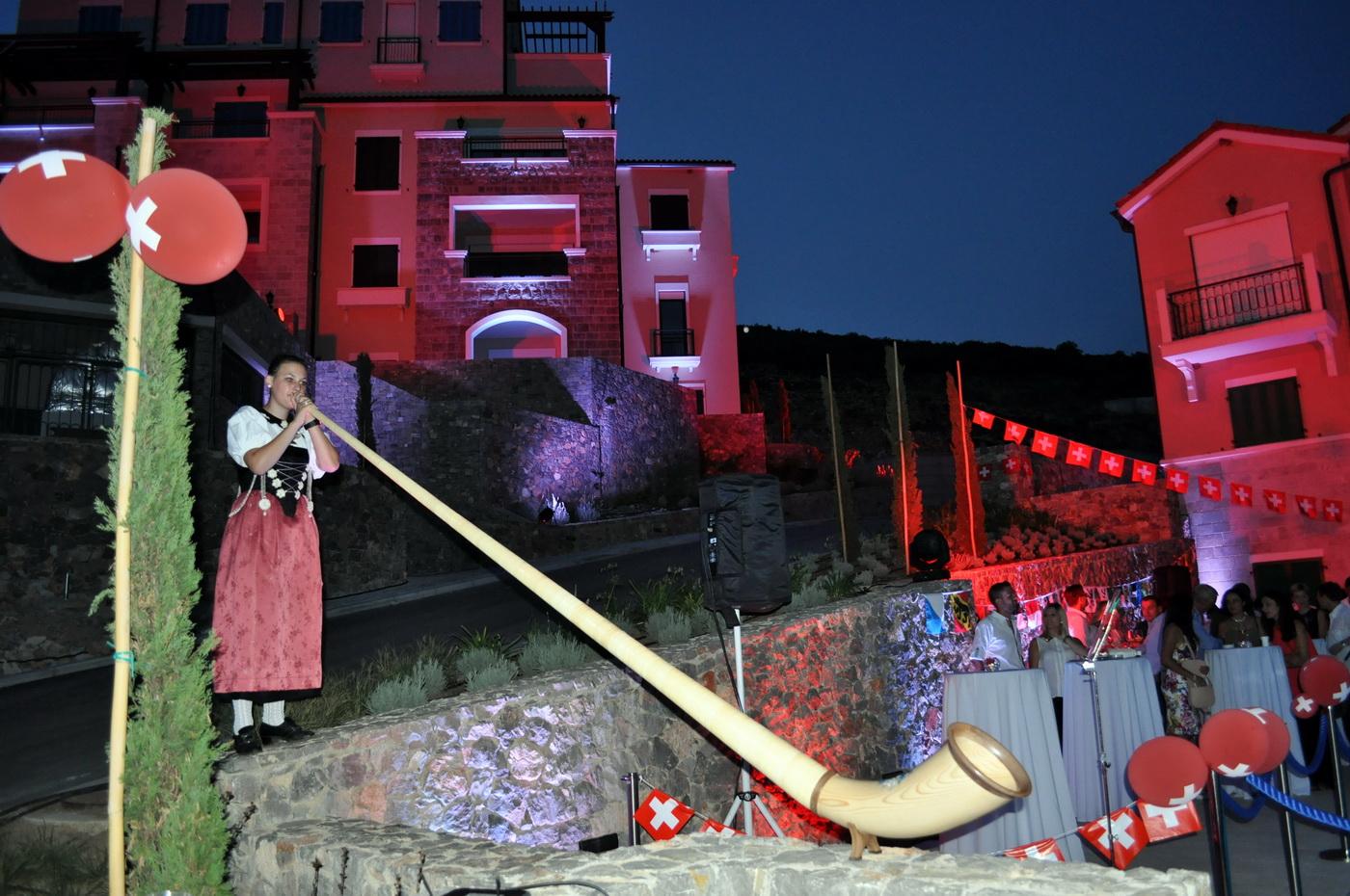 Luštica Bay – proslava nacionalnog dana Švajcarske - Fani Kencih
