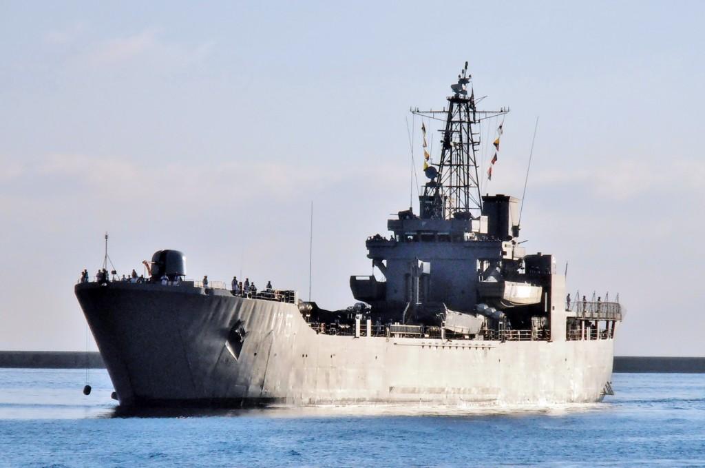 HS IKARIA  Greek navy LST.