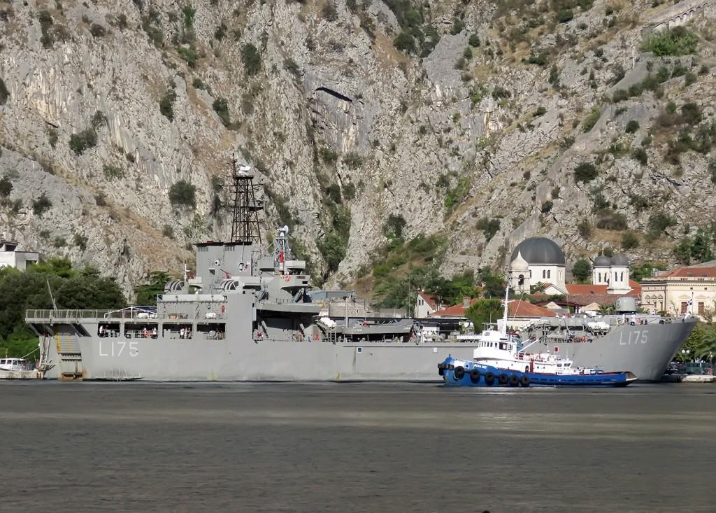 Ikaria grčki vojni brod