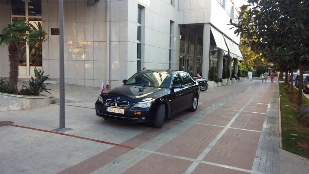 Lipkin BMW večeras u Tivtu