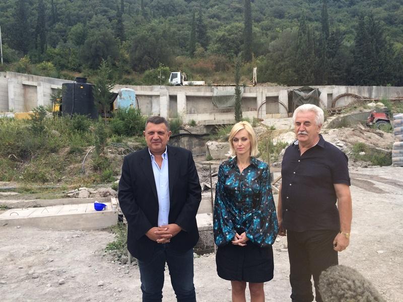 Predsjednica opštine HN sa saradnicima