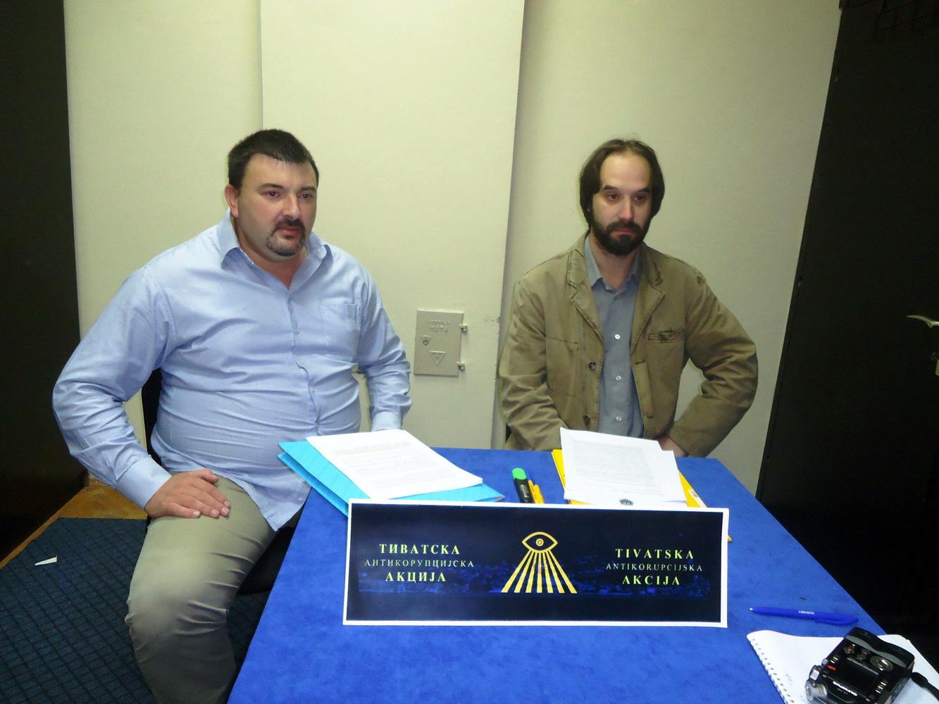 Abović i Kovačević na pressu TAA